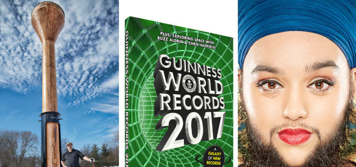 Bearded Woman And Longest Cat Among New Guinness World Records