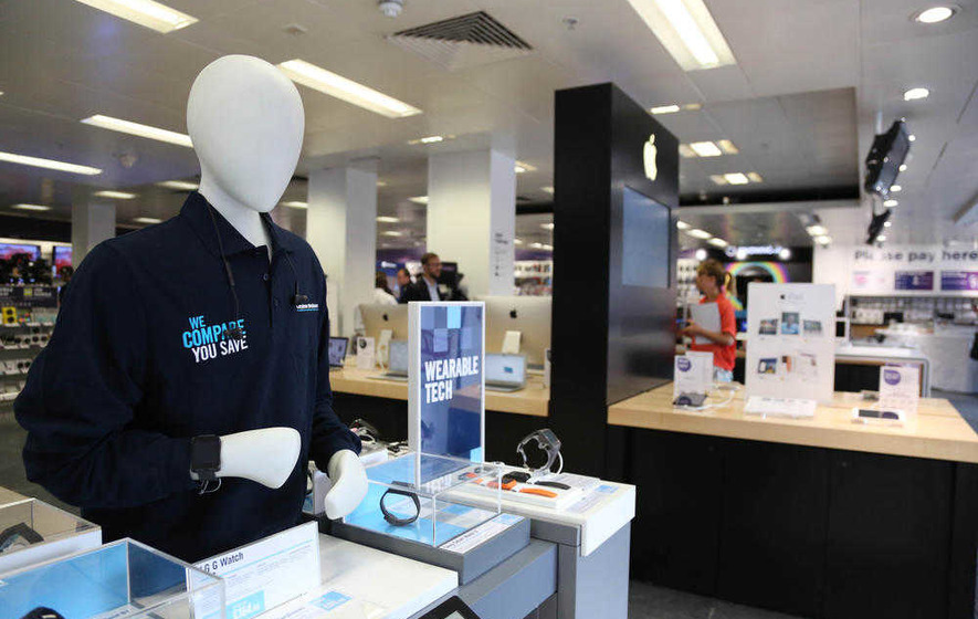Dixons Carphone hails 4 per cent sales rise as shoppers undeterred by Brexit