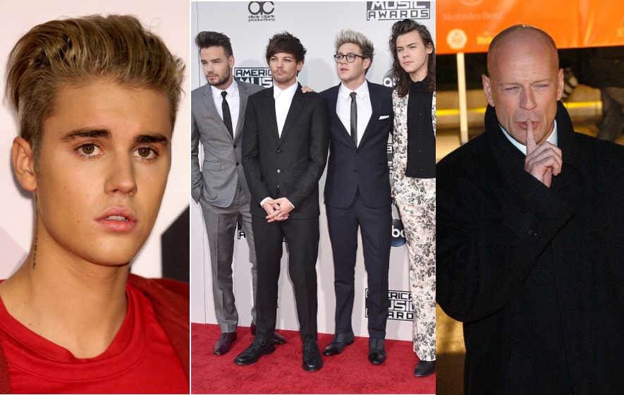 One Direction, Justin Bieber and Bruce Willis albums voted among worst of all time