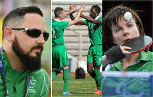 Ireland's Paralympic athletes -  Seven-a-side Football and Various Sports