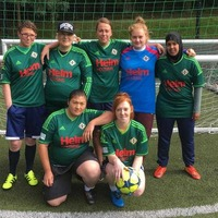 Homeless women lace up boots for Belfast Homeless 5 Nations Cup