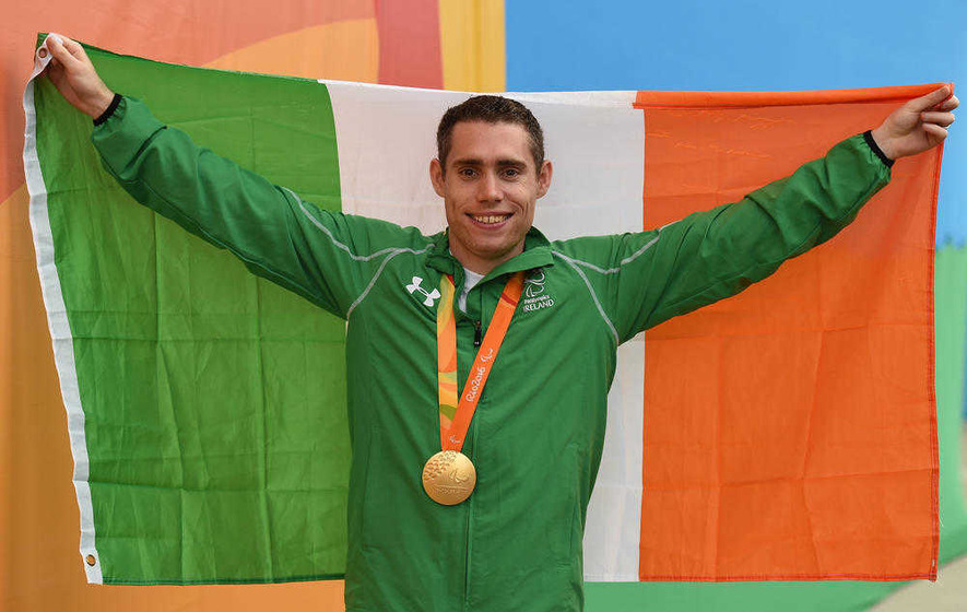 Jason Smyth: Planet's fastest Paralympian is an Irishman