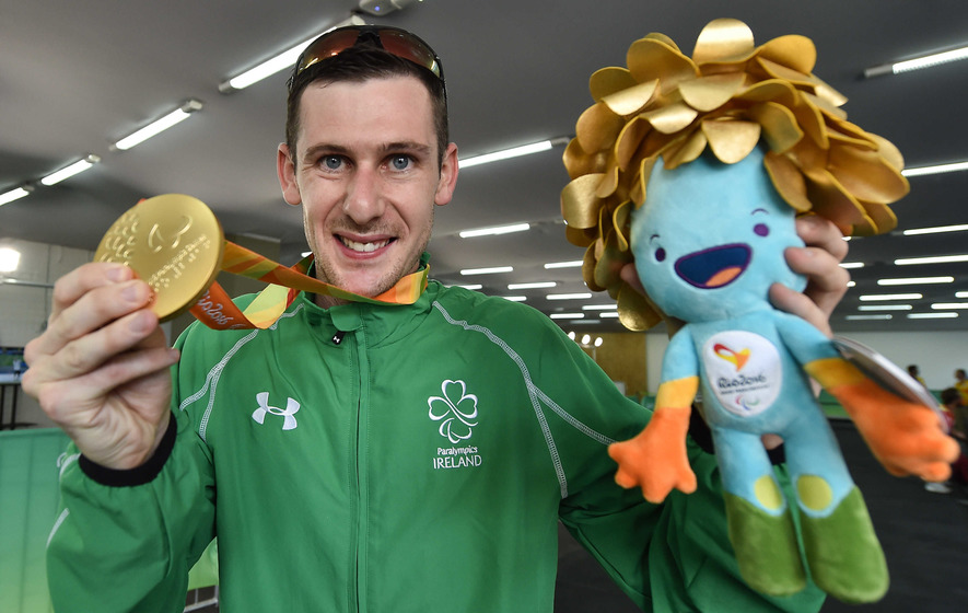 Michael McKillop wins Ireland's second gold of Rio Paralympics