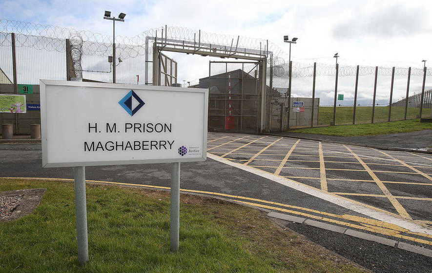 Republican prisoner at Maghaberry 'on hunger strike'
