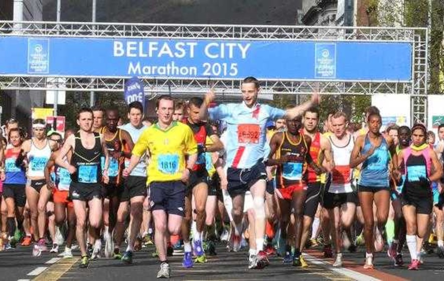 Belfast marathon in slow lane compared to Dublin counterpart