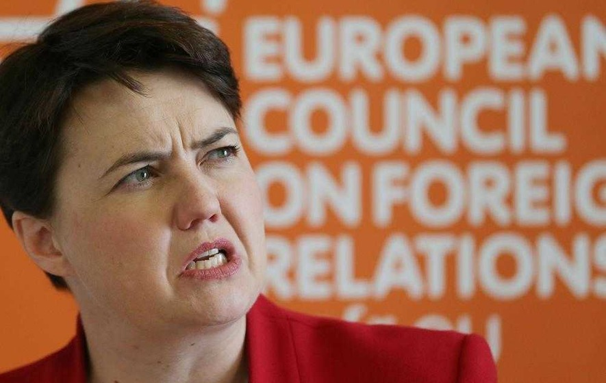 Tory leader Ruth Davidson highlights Brexit 'opportunities'