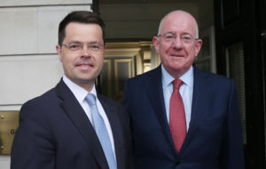 James Brokenshire reassures Dublin on keeping border open