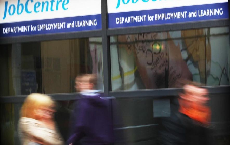 Northern Ireland dole queues shortened in August