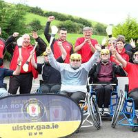 Video: Wheelchair hurling in Madden, Co Armagh
