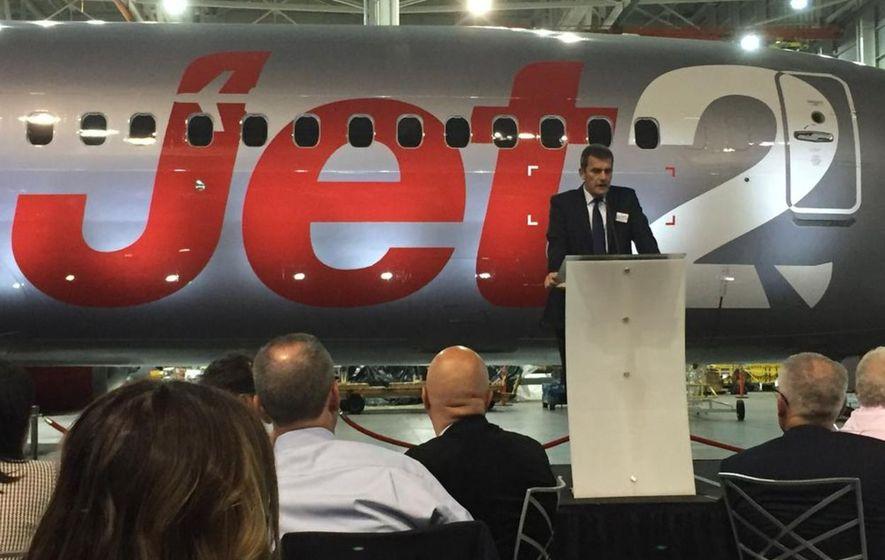 Belfast to benefit as Jet2 invests £2 billion on new Boeing fleet expansion