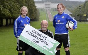 Women's International Cup in Northern Ireland next month