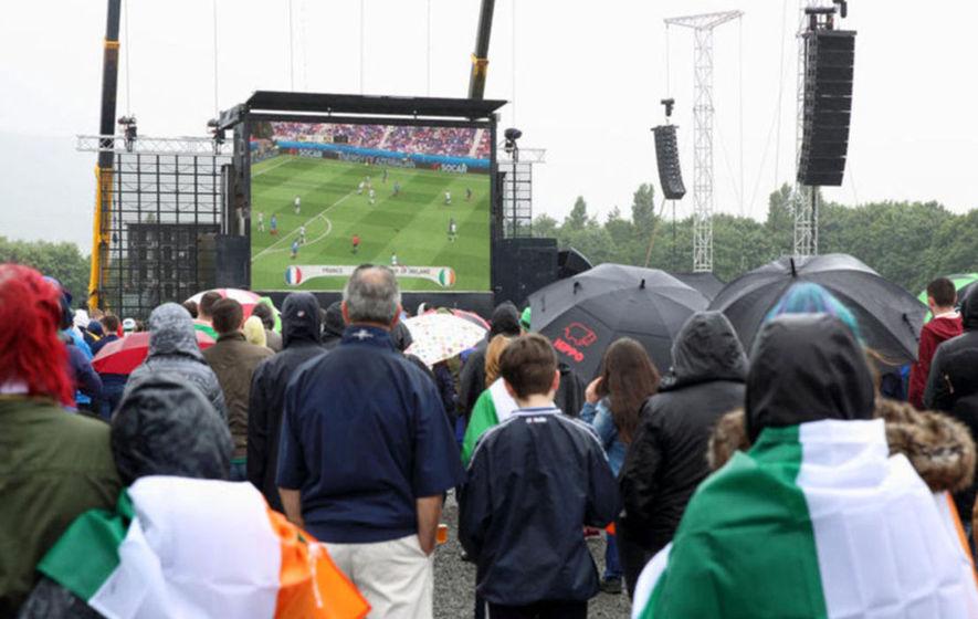 Euro 2016 fanzone move cost Belfast ratepayers £170,000