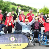 Ulster Wheelchair hurlers showcase skills in Madden demo