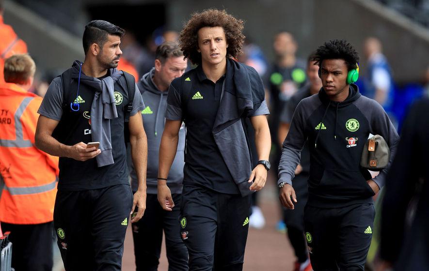 Antonio Conte has complete faith in 'new boy' David Luiz