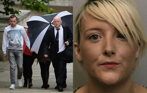 Mum and granny jailed over killing of baby girl by pitbull