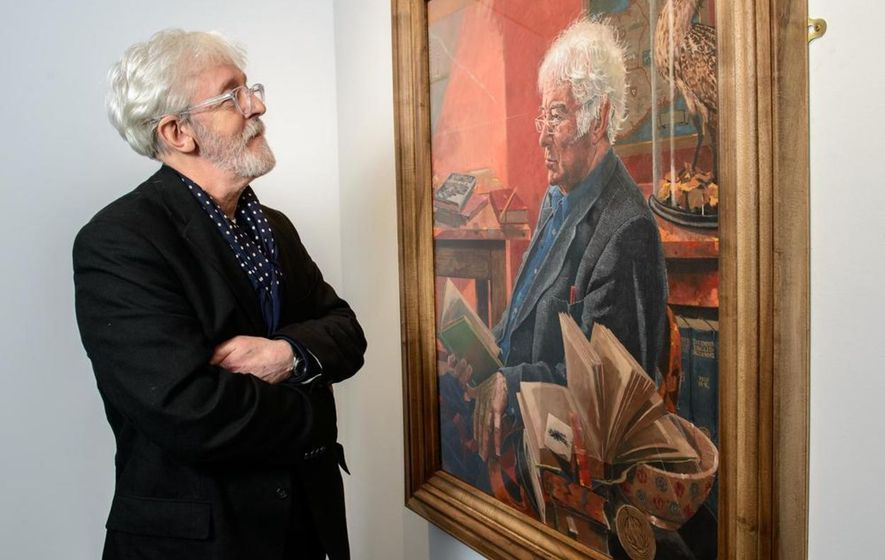Seamus Heaney portrait finds new home at visitor centre