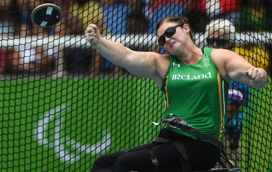 Orla Barry the hero in Rio as she takes silver in discus