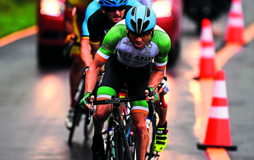 Chain trouble costs Eoghan Clifford another medal