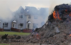 Belfast homes gutted by bonfire cost £90,000 to repair