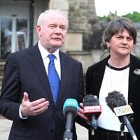 Furore over press secretary job is 'hysterical' says Arlene Foster and Martin McGuinness
