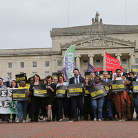 Stormont rally demands help for refugees