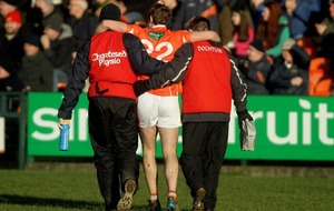 Armagh's Kevin Dyas on comeback trail after injury