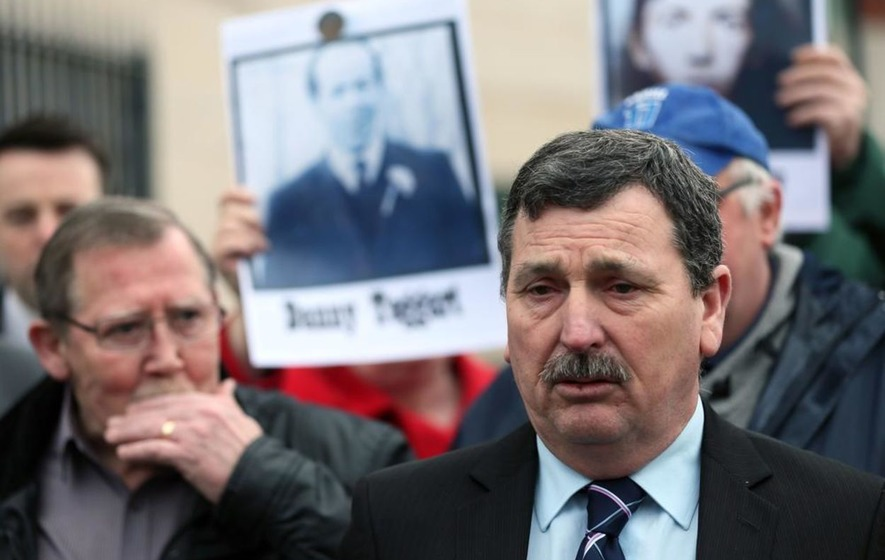 Ballymurphy: Relatives of victims cut short 'terrible' meeting