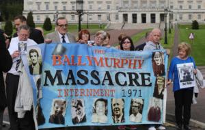 Ballymurphy victims' relatives cut short 'terrible' meeting