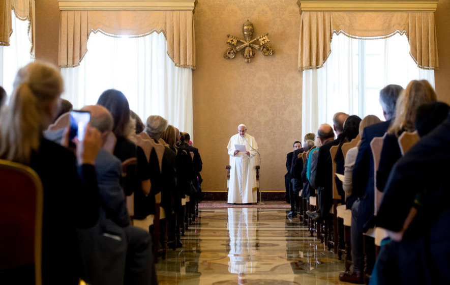 Pope Francis: Hospitality our greatest security against hateful acts of terrorism
