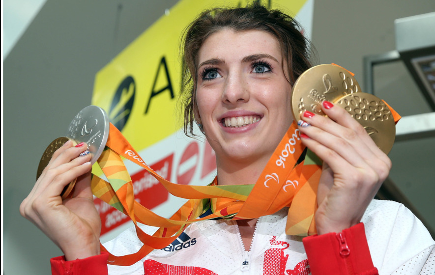 Bethany Firth delighted by the welcome home from Rio