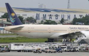 Saudi Arabian plane isolated in Manila after false distress call
