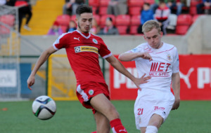 Cliftonville mark anniversary with seven-goal exhibition