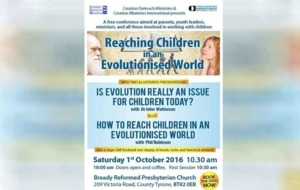 MLA backs event promoting teaching children creationism