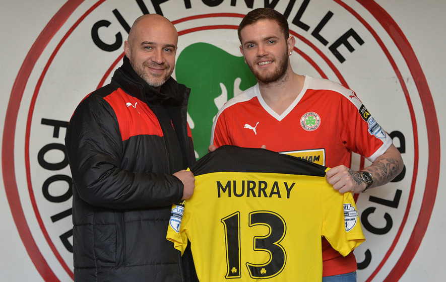 Cliftonville part company with Darren 'Doozle' Murray