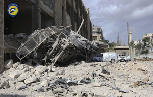 'Unprecedented' bombing campaign intensifies in rebel-held areas of Aleppo