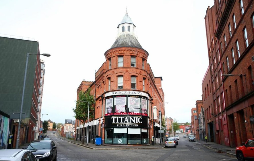 Frames complex in Belfast city centre is sold - and new hotel now ...