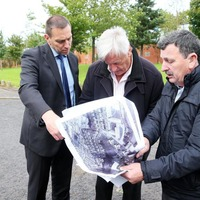 Michael Mansfield visits sites of Ballymurphy killings