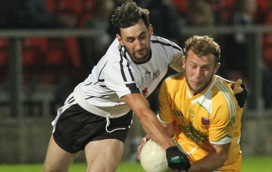 Down SFC: Clonduff out to scupper Kilcoo's drive for five