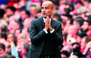 Manchester City boss Pep Guardiola taking it one game at a time