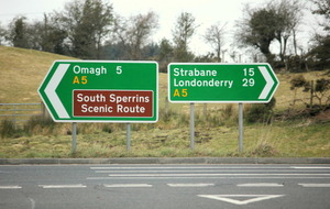 Planned A5 road scheme between Derry and Ballygawley to cost £870m to build
