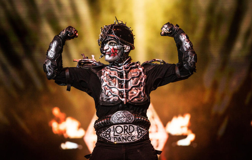 Dark Lord Tom Cunningham leads Lord of the Dance back to Belfast
