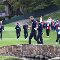 Ryder Cup: Europe captain Darren Clarke relies on his experienced players to guide rookie team-mates