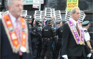 Ardoyne Orange Order march given permission by Parades Commission