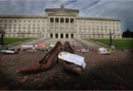 Demonstrators at Stormont urge more research into chronic disease ME