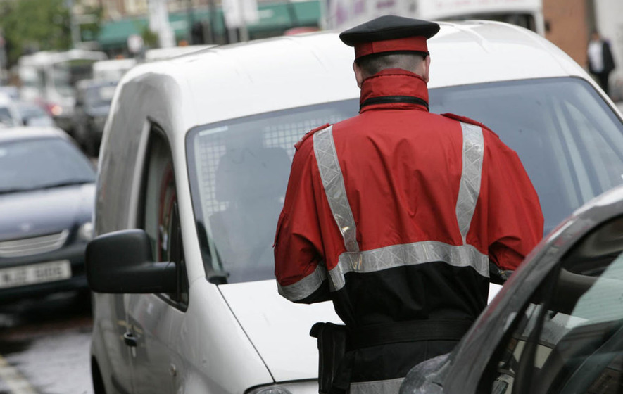 Parking fines raised more than £4 million for government department last year