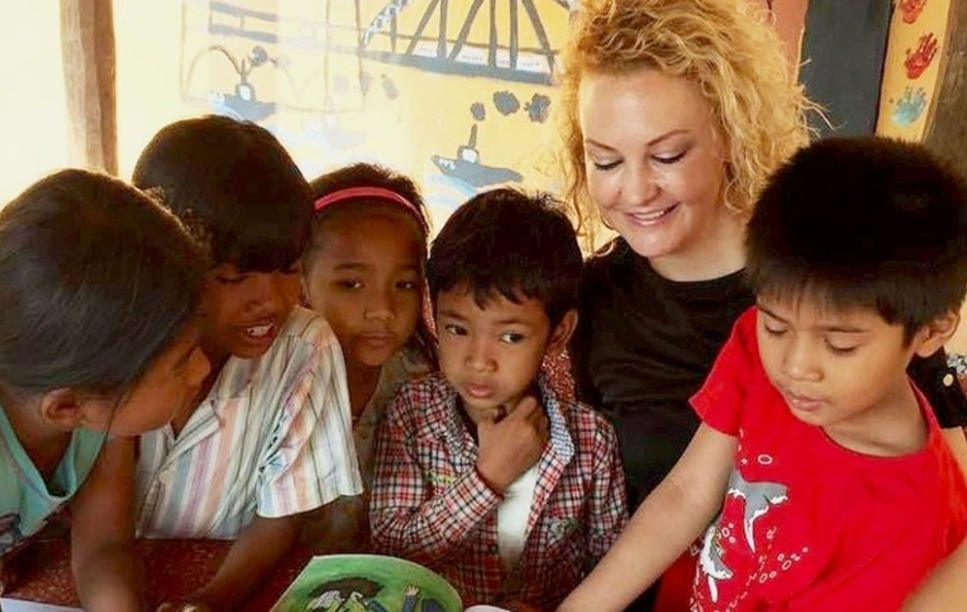 Belfast woman's charity reaching out to Cambodia's 'invisible' children