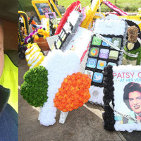 The man behind stunning Lurgan 'Traveller Queen' funeral wreaths