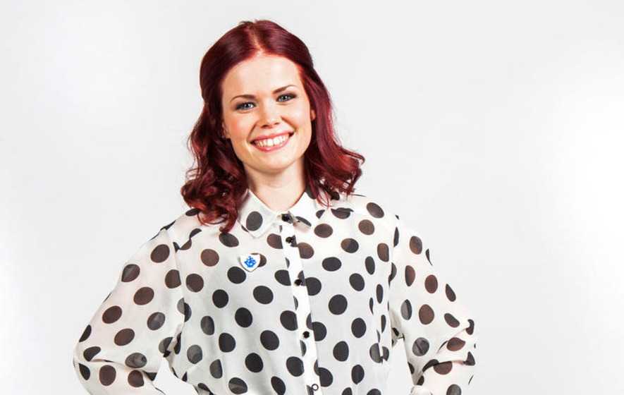 Blue Peter's Lindsey Russell in Belfast for Cinemagic kids festival