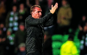 Brendan Rodgers tells Celtic to forget Champions League high