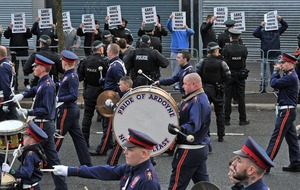 Camp Twaddell dismantled as parade passes off peacefully